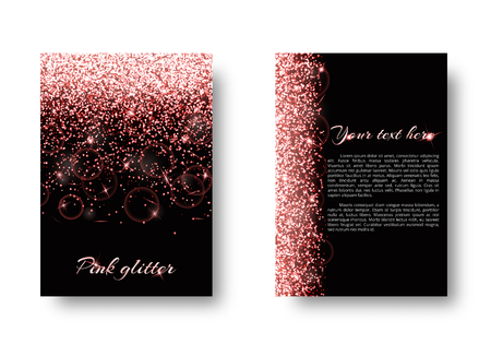 spellbinding: Bling background with abstract light. Shine bright on a black backdrop.