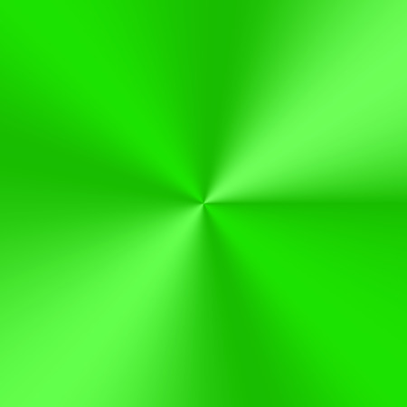 Bright green conical gradient. Colorful vector plate for decoration of frames, cards and banners