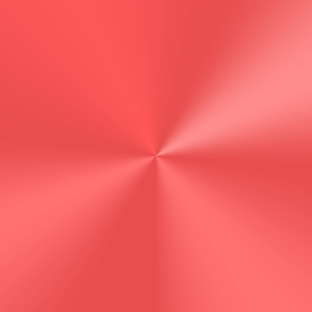 Red conical gradient with metallic effect