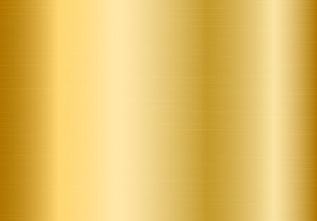 Polished gold metal gradient plate Illustration