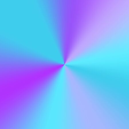 Shiny blue background with a conical gradient effect. Vector illustration with light effect.   イラスト・ベクター素材