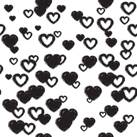Simple background with hearts for decoration for valentines day, mothers day or birthday.