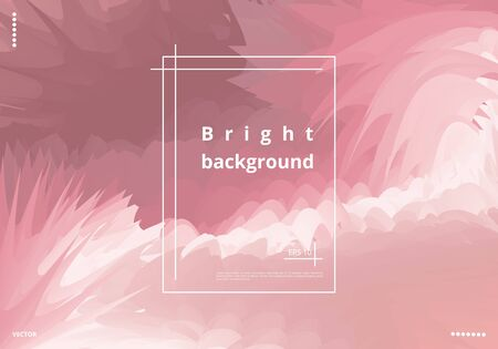 Bright dynamic metal background for the design of business cards, posters and cards. Vector illustration