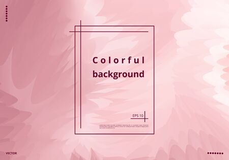 Minimalistic abstract metallic background with color splashes for design brochures, flyers, business cards. Vector illustration
