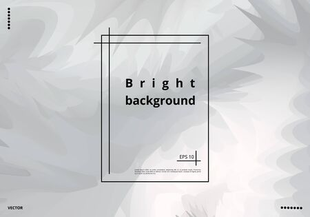 Bright monochrome abstract background for design of cards, invitations and greetings. Vector illustration