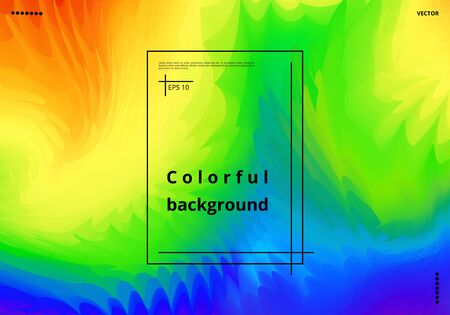 Multicolor abstract background with color splashes for decoration of greeting cards, posters, business cards. Vector illustration