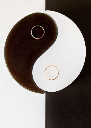 dualism: Yin-Yang and wedding rings