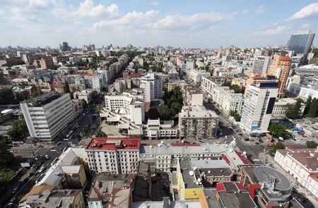 bird s eye view: Bird s eye view of Kiev