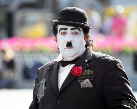 Sad Charlie Chaplin