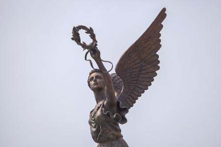 Détail du monument à la déesse de la victoire Nike Banque d'images - 28421263