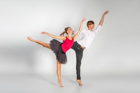 beautiful ballet couple