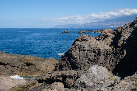 natural swimming pools on Tenerife island