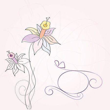 Narcissus background