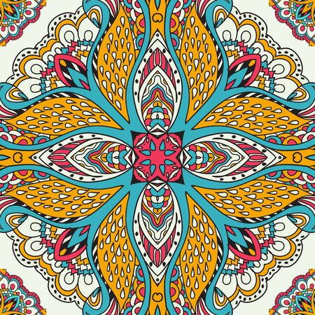 absract: Absract seamless circle pattern background Illustration