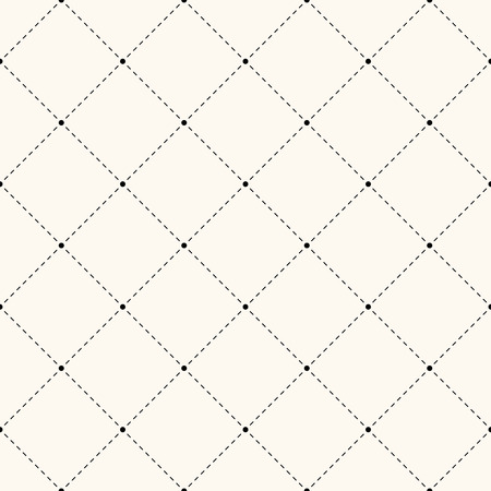 endless repeat structure: Seamless retro polka dot pattern. Repeating geometric tiles of circles and rhombus