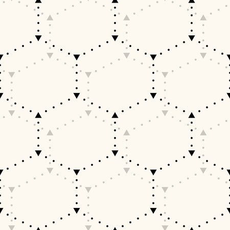 hex: Seamless hexagon pattern. Can be used for wallpaper, pattern fills, web page background,surface textures Illustration