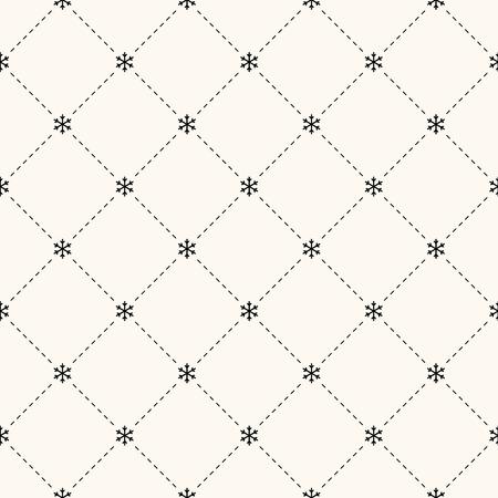 papel tapiz: Vector sin patrón retro, con copos de nieve. Puede ser utilizado para el papel pintado, patrones de relleno, de fondo página web texturas de la superficie Vectores