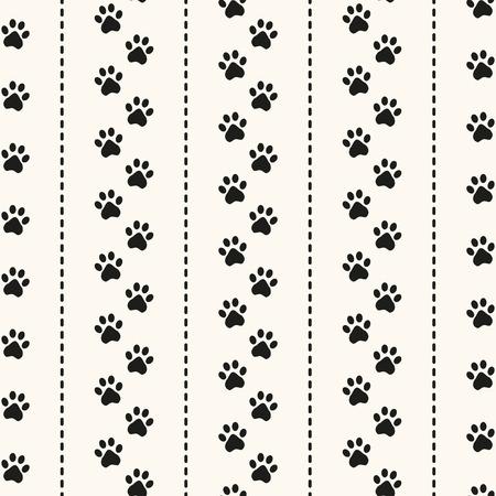 caminar: Modelo animal incons�til de la huella de la pata y de lunares. Puede ser utilizado para el papel pintado, patrones de relleno, de fondo p�gina web texturas de la superficie