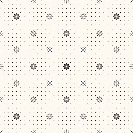 seamless retro pattern, polka dot with wheels. Vector