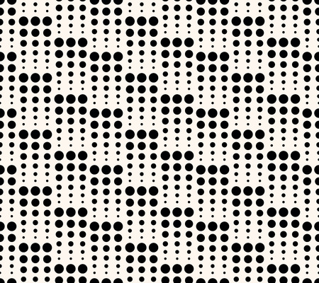 Geometric seamless pattern with circles. Can be used for wallpaper, pattern fills, web page background, surface textures