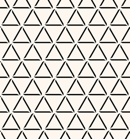 Seamless abstract decorative background.  Repeating geometric tiles from triangles.