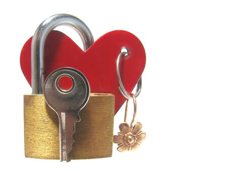 Key from heart photo