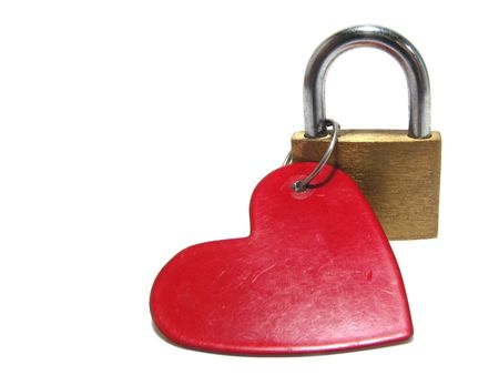 openly: The closed heart Stock Photo