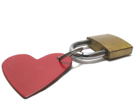 The intimate padlock photo