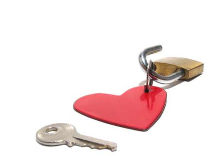 Key opening heart photo