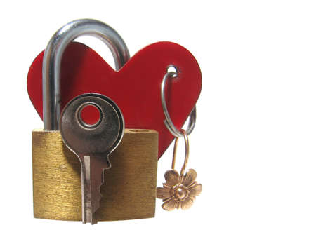 Find a key to heart photo