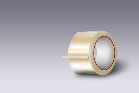 Roll adhesive tape Vetores