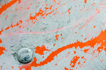 metal texture of concrete, metal orange with splashes of gray concrete for a background. Textures in grunge style