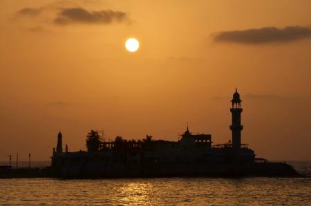 Mosque  Haji Ali in Mumbai
