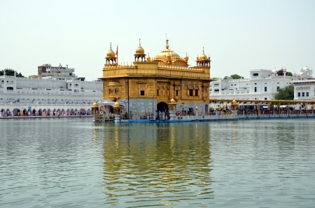 amritsar: The Harmandir Sahib complex  Golden Temple   in Amritsar, India