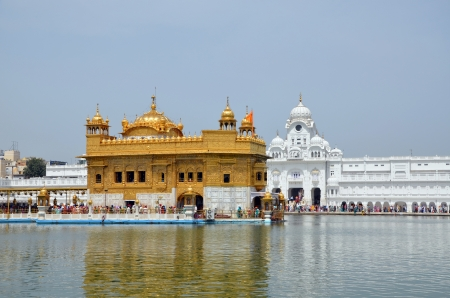 amritsar: Golden Temple  in Amritsar, India Editorial