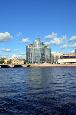 Luxury residential complex  Aurora , Saint-Petersburg Stock Photo - 22331085