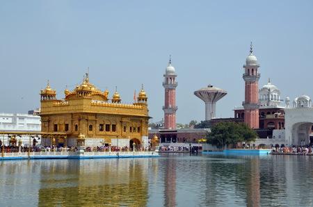punjab:  Golden Temple, Punjab, India Stock Photo