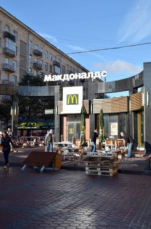 mcdonalds: McDonalds in Saint-Petersburg
