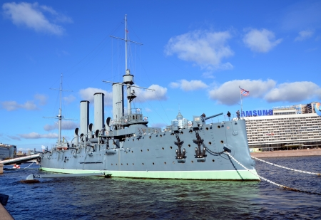 Russian cruiser Aurora, Saint-Petersburg