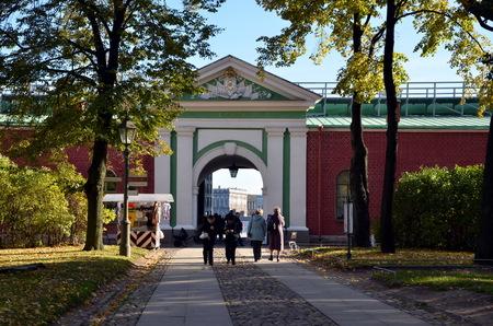 neva: Neva Gate, Peter and Paul Fortress, St  Petersburg Editorial