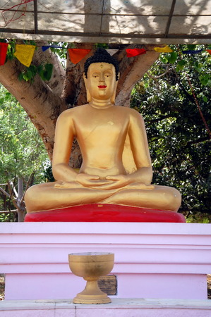 sarnath: Buddha in Sarnath, India