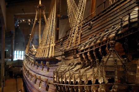 Vasa museum in Stockholm, Sweden Editorial