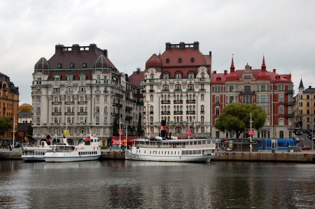 the quay: Quay in Stockholm, Sweden