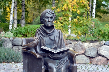 Monument to Astrid Lindgren in Stockholm