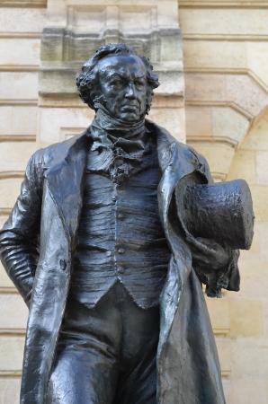 Monumento a Francisco de Goya en Burdeos, Francia Foto de archivo - 23674193