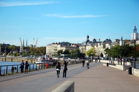 Quays of the Garonne;  Bordeaux,  France