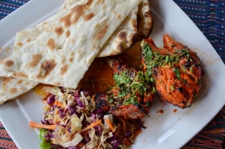 Indian cuisine; Tandoori Chicken