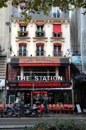 brasserie:  Bar-brasserie The Station;  Paris, France  Editorial