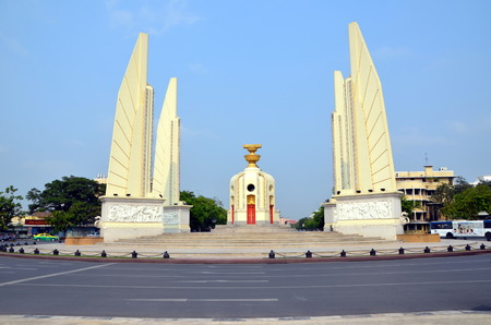 Monument to Democracy  The monument was erected in 1932 in Bangkok, Thailand