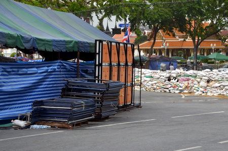 riots: Barricades; Riots in Bangkok in 2014, Thailand